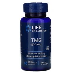 Life Extension TMG, 500mg, 60 kapsułek