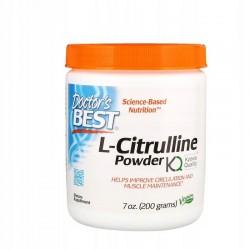 Doctor's Best, L-Cytrulina proszek (200 g)