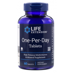 Life Extension Multiwitamina One-Per-Day, 60 Tab