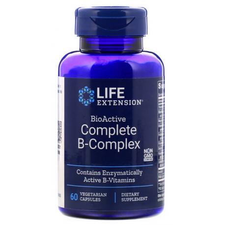 Life Extension B complex kompleks 60 kapsułek