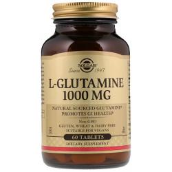 SOLGAR, L-Glutamina 1000 mg 60 tabletek