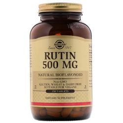 SOLGAR, Rutyna, 500 mg, 250 tabletek