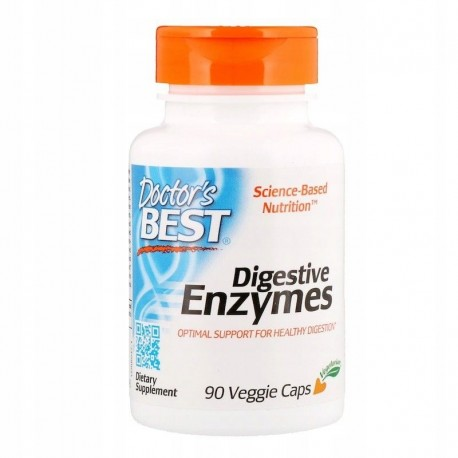 Doctor's BEST Enzymy trawienne Digestive Enzymes