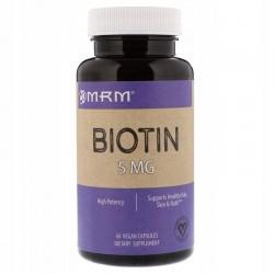 krótki termin MRM Biotyna 5 mg 60 kapsułek