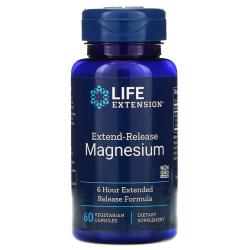 Life Extension Magnez wydłużone uwalnianie 60kaps