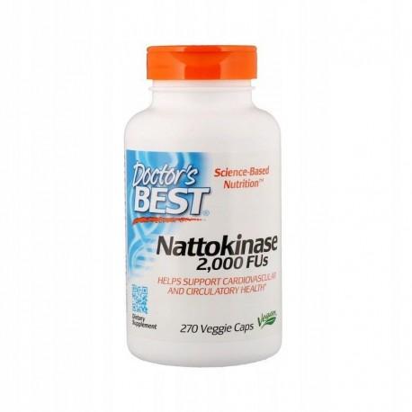 DOCTOR'S BEST Natookinaza Nattokinase 2000 FU, x270