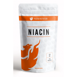 Phoenix Nutrition Niacyna Witamina B3 100mg 120tab