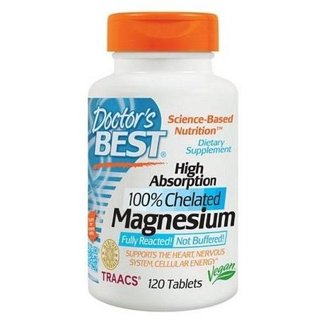 DOCTOR'S Magnez 100 % Chelat, 120 tabletek
