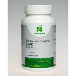 NaturePRO NAC 600 mg 100 kapsułek
