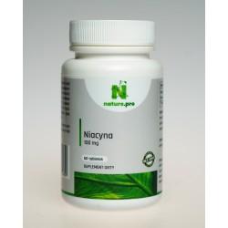 NaturePRO Niacyna 100 mg 60 tabletek