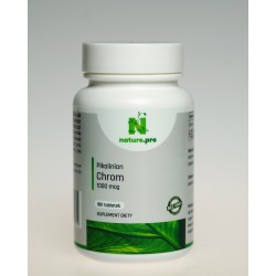 NaturePRO Chrom Pikolinian 1000 mcg 180 tabletek