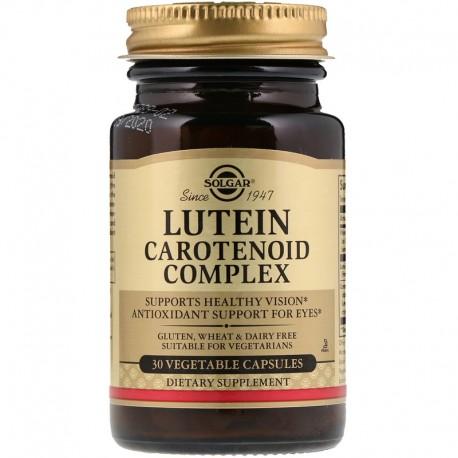 SOLGAR, Luteina i kompleks karotenoidów x30
