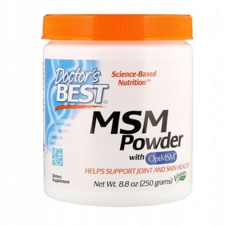 Doctor's Best MSM w proszku 250 gram