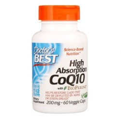 Doctor's BEST CoQ10 Koenzym Q 10, 200 mg, 60 kaps