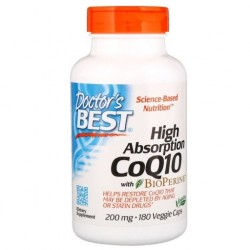 Doctor's BEST CoQ10 Koenzym Q 10, 200 mg, 180 kaps