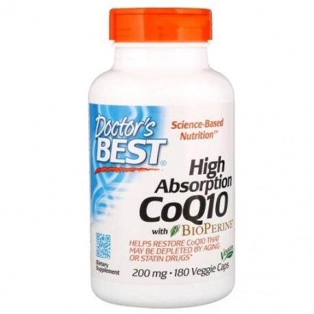 Doctor's BEST CoQ10 Koenzym Q 10, 200 mg, 180 kaps
