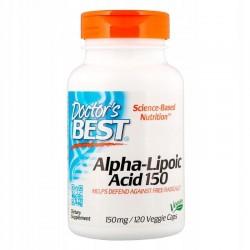 Doctor's BEST Kwas Alfa Liponowy, 150 mg, 120 kaps