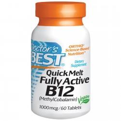 Doctors BEST Witamina B12 Metyl 1000 mcg 60 tab