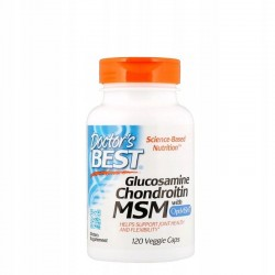 DOCTOR'S Best Glukozamina, chondroityna, MSM x120