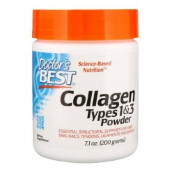Doctor's BEST Kolagen Collagen Types 1&3, 200 gram