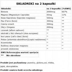 SOLGAR, Żelazo, 25 mg, 180 kapsułek