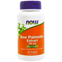 NOW FOODS Saw Palmetto PalmaSabałowa 160mg 120kaps