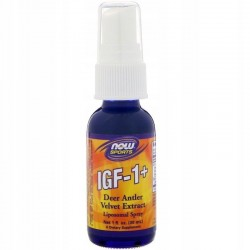 NOW FOODS IGF-1+, 1 fl oz (30 ml)