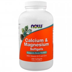 NOW FOODS calcium magnesium 240