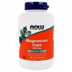 NOW FOODS Magnez Tlenek Cytrynian Asparginian x180