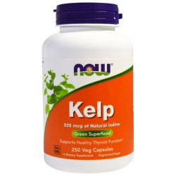 NOW FOODS KELP 325mcg 250caps