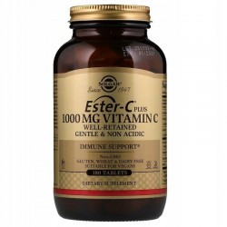 SOLGAR Ester-C Plus AŻ 180 tab.Witamina C 1000 mg
